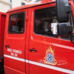 Αφίδνες διόδια: Φορτηγό άρπαξε φωτιά